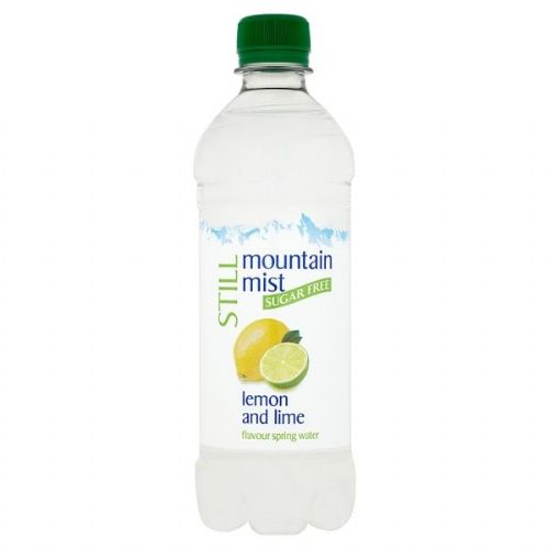 Mountain Mist Still Sugar Free Lemon and Lime Flavour Spring Water 500ml